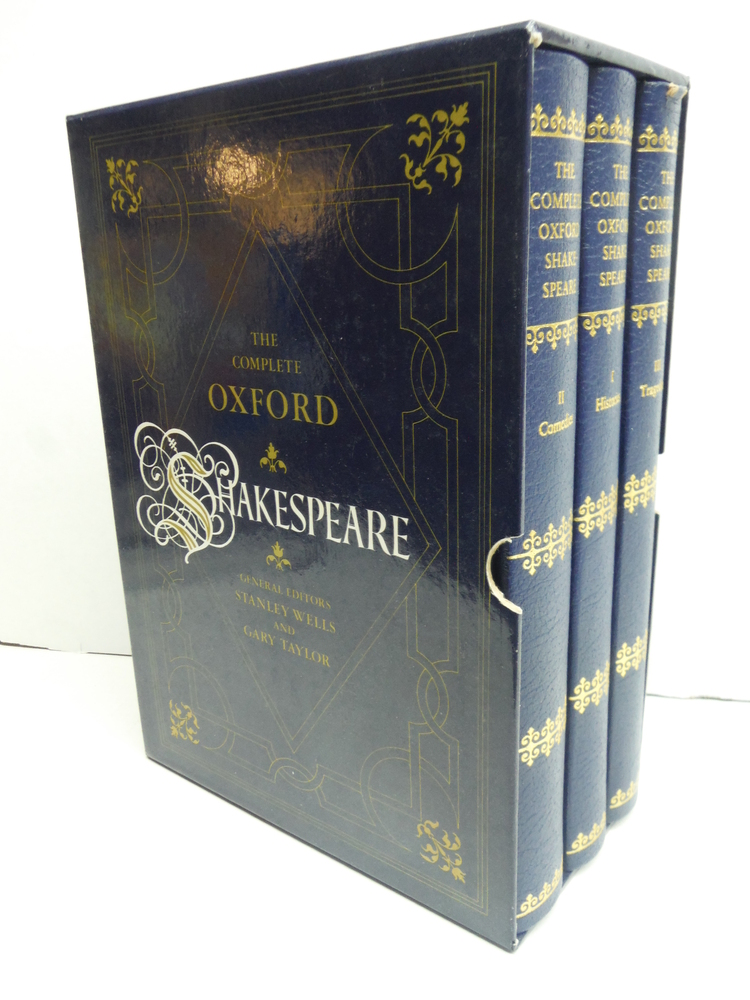 The complete Oxford Shakespeare / general editors Stanley Wells and Gary Taylor