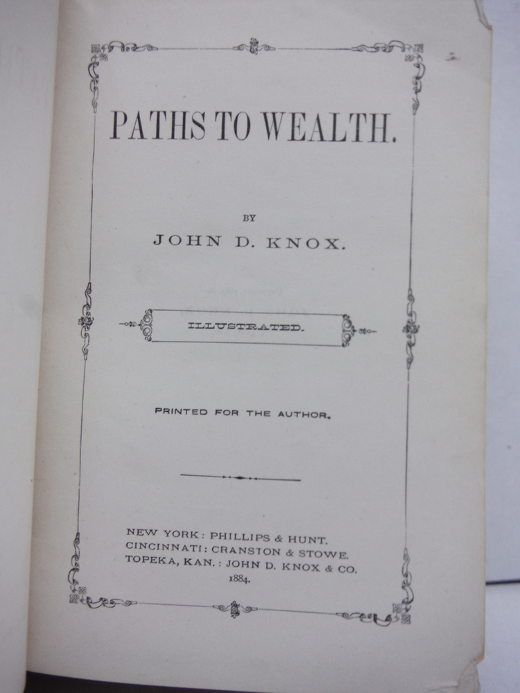 Image 1 of Paths to Wealth