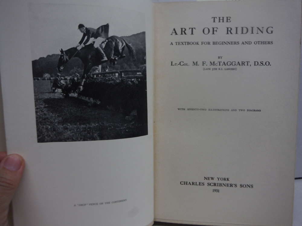Image 1 of The Art of Riding a Textbook for Beginners and Others