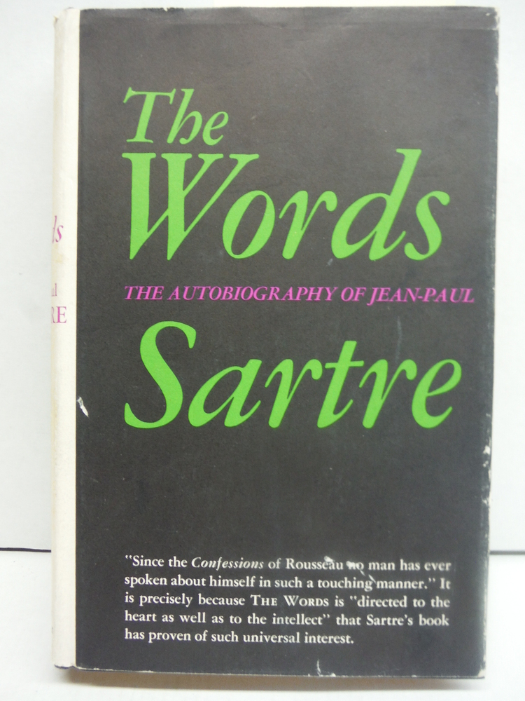 Image 0 of The Words. the Autobriography of Jean-Paul Sartre.