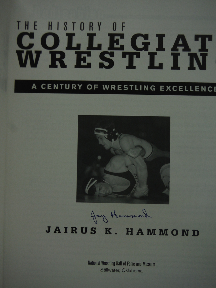 Image 1 of The History of Collegiate Wrestling: A Century of Wrestling Excellence