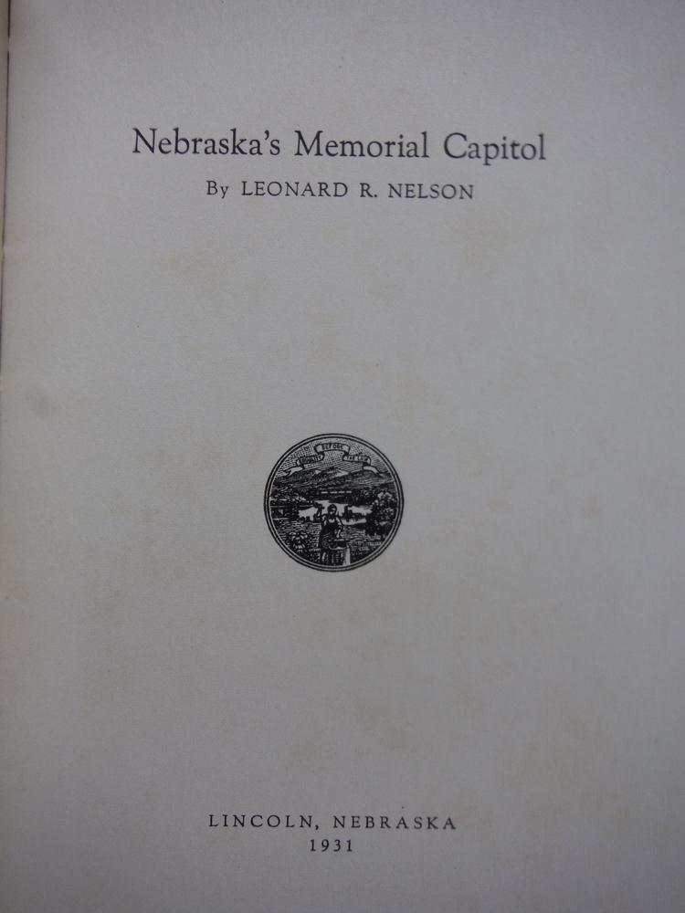Image 1 of Nebraska's memorial Capitol,