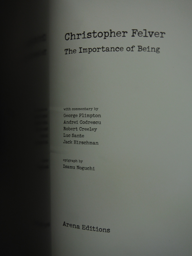 Image 1 of Christopher Felver the Importance of Being