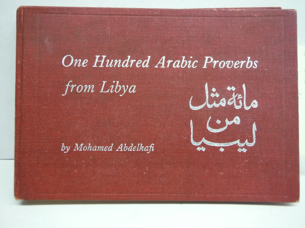 One Hundred Arabic Proverbs from Libya