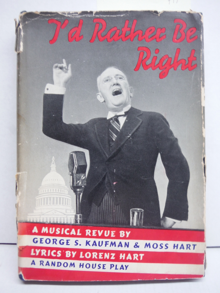 I'd Rather be Right - A Musical Revue