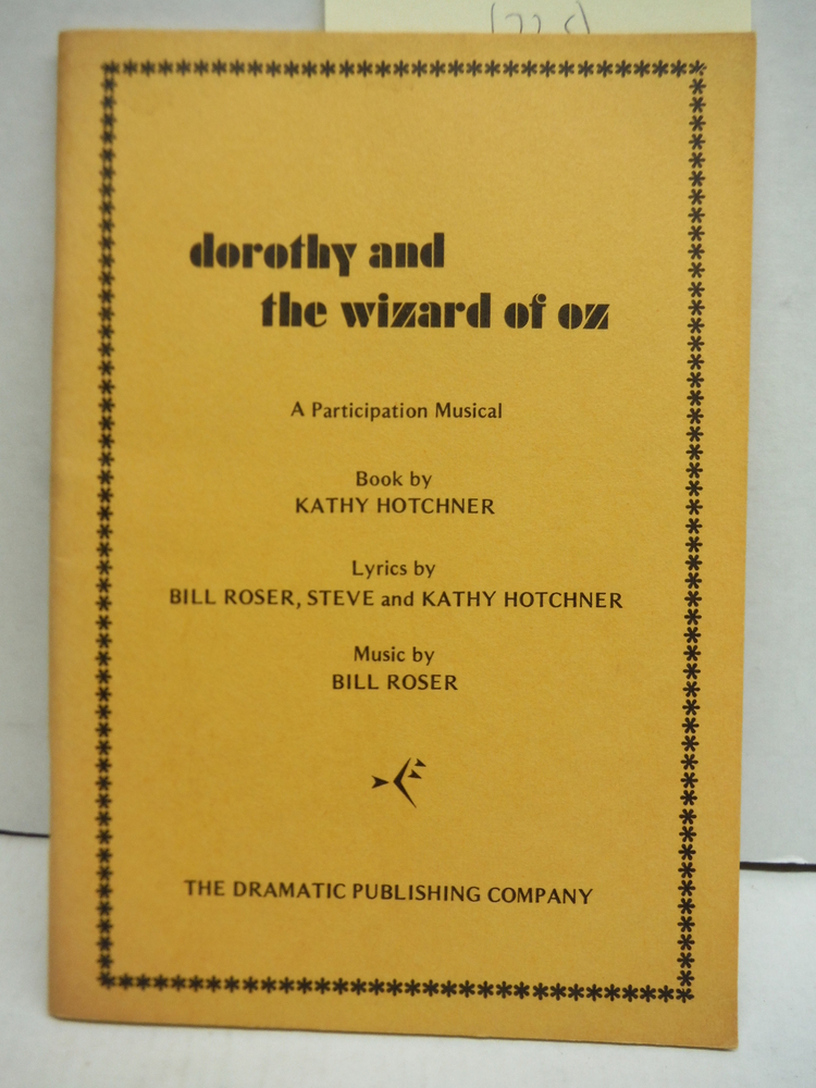 Image 0 of Dorothy in the Wizard of Oz a participation play for Children