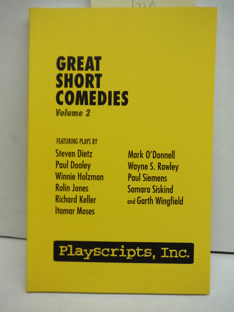 Image 0 of Great Short Comedies, Volume 2
