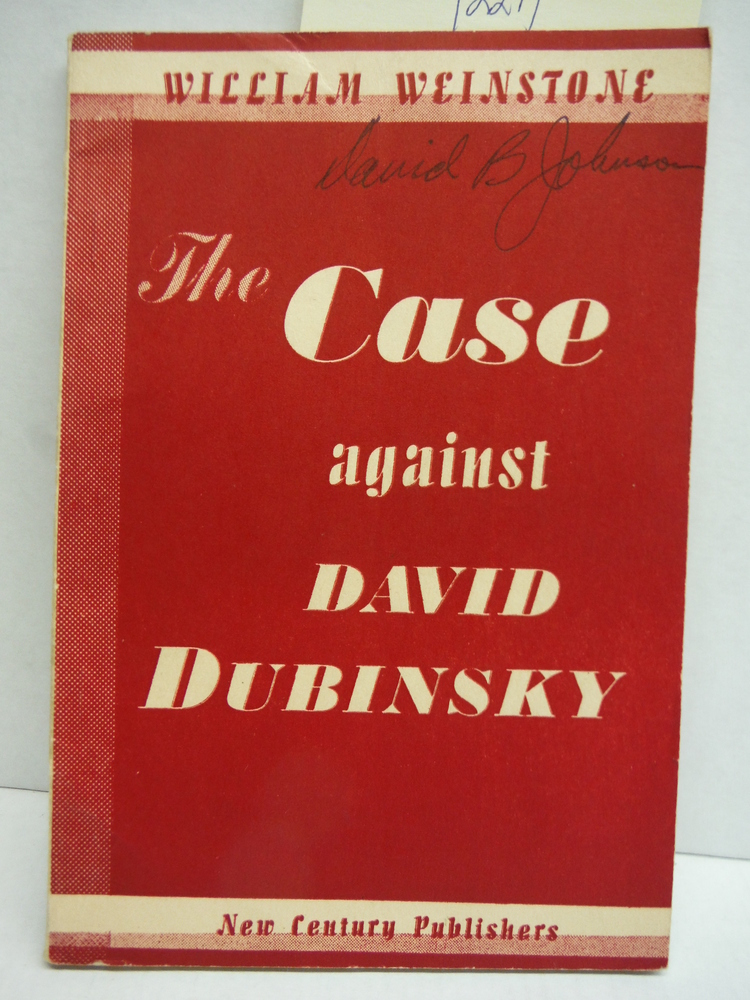 The Case Against David Dubinsky