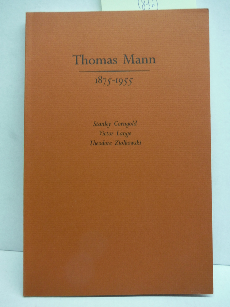 Image 0 of Thomas Mann 1875-1955