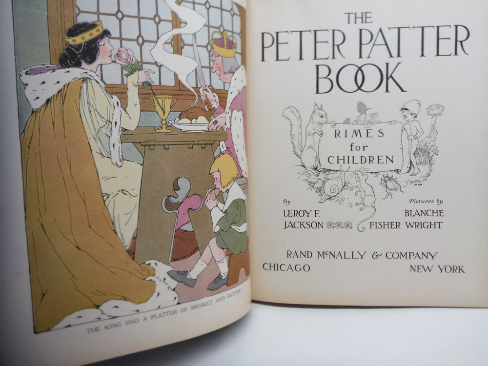 Image 1 of The Peter Patter book;: Rimes for children (Classics new and old for children)