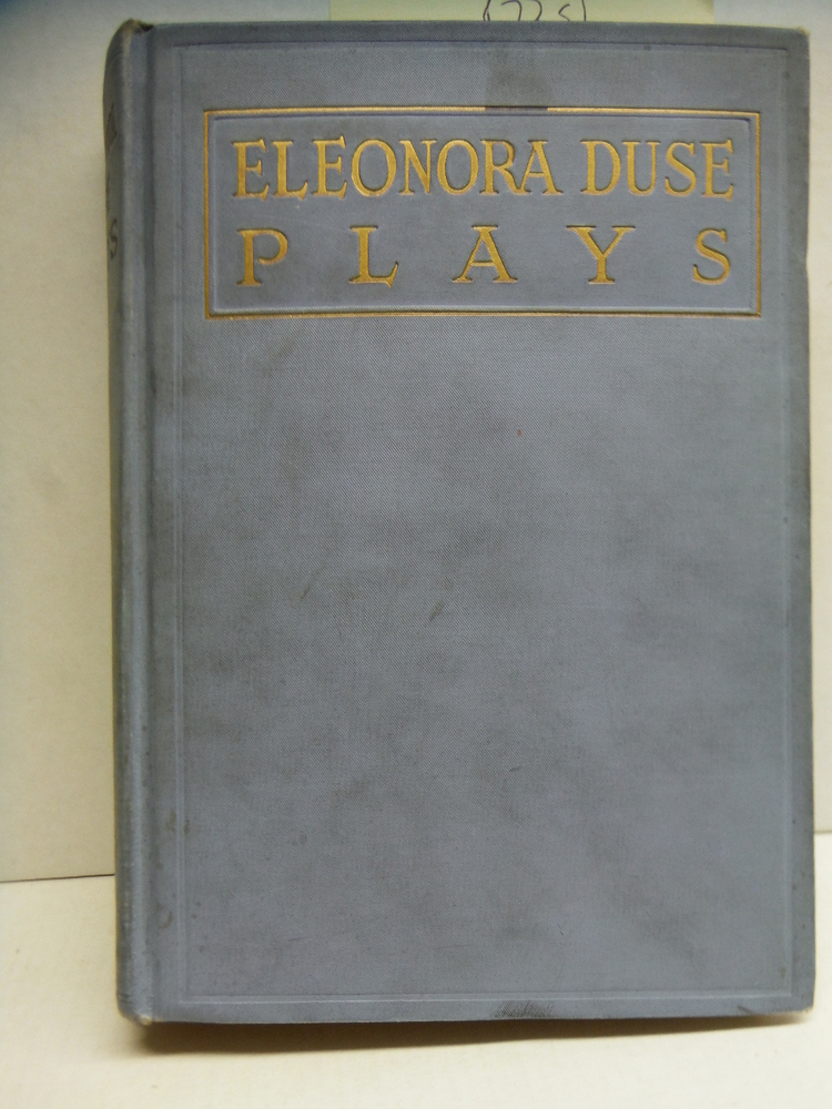 Image 0 of The Eleonora Duse Series of Plays: Thy Will be Done; Ghosts; the Land from the S