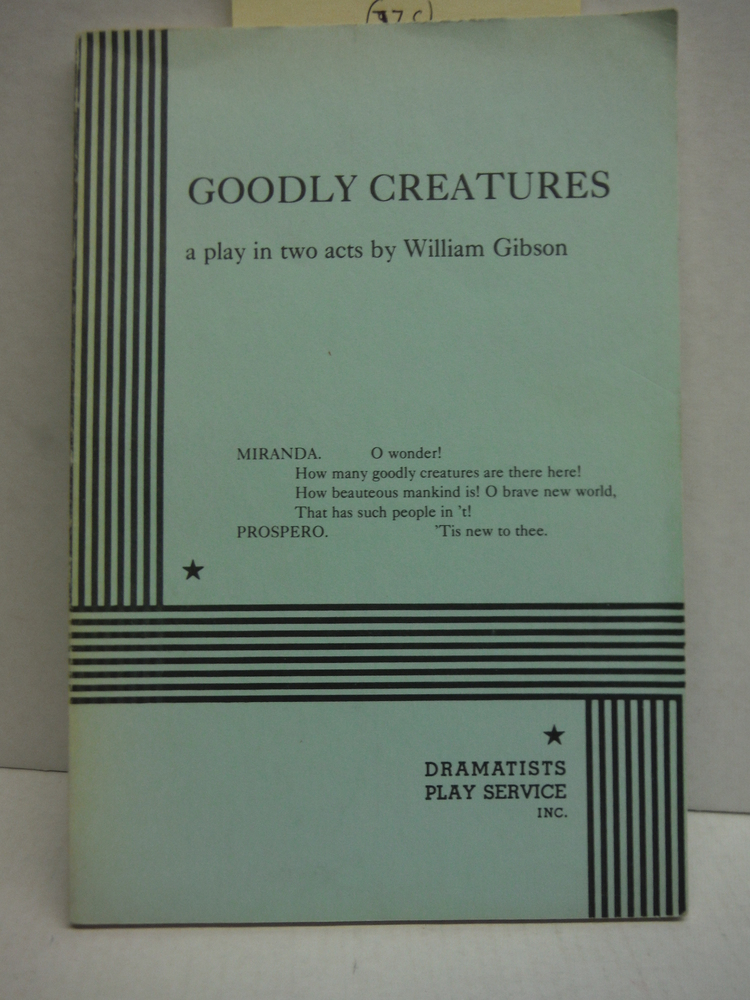 Image 0 of Goodly Creatures.