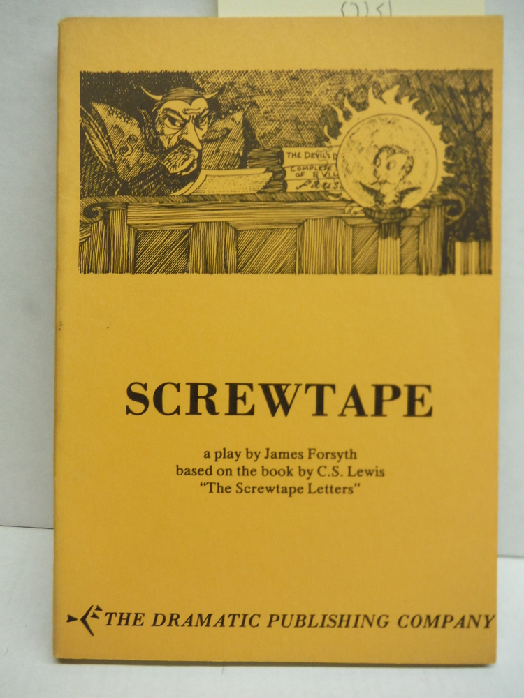 Image 0 of Screwtape: A Play