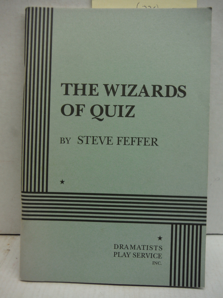 Image 0 of The Wizards of Quiz - Acting Edition