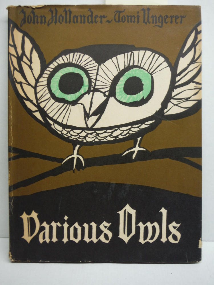 A Book of Various Owls