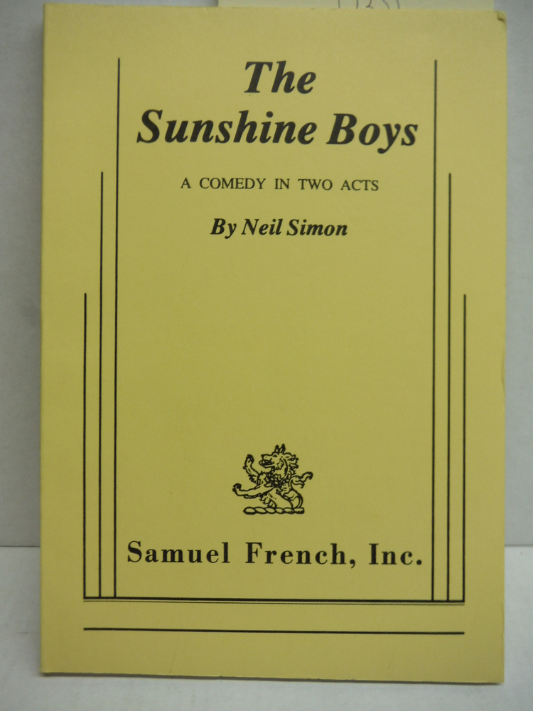Image 0 of The Sunshine Boys (Acting Edition)