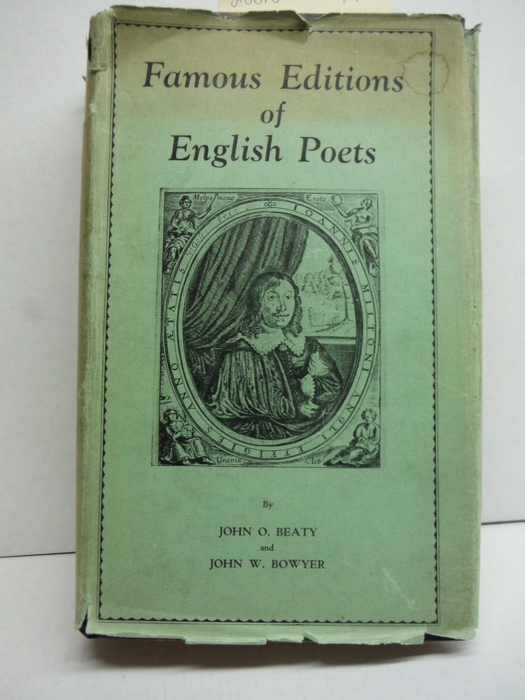 Famous Editions of English Poets