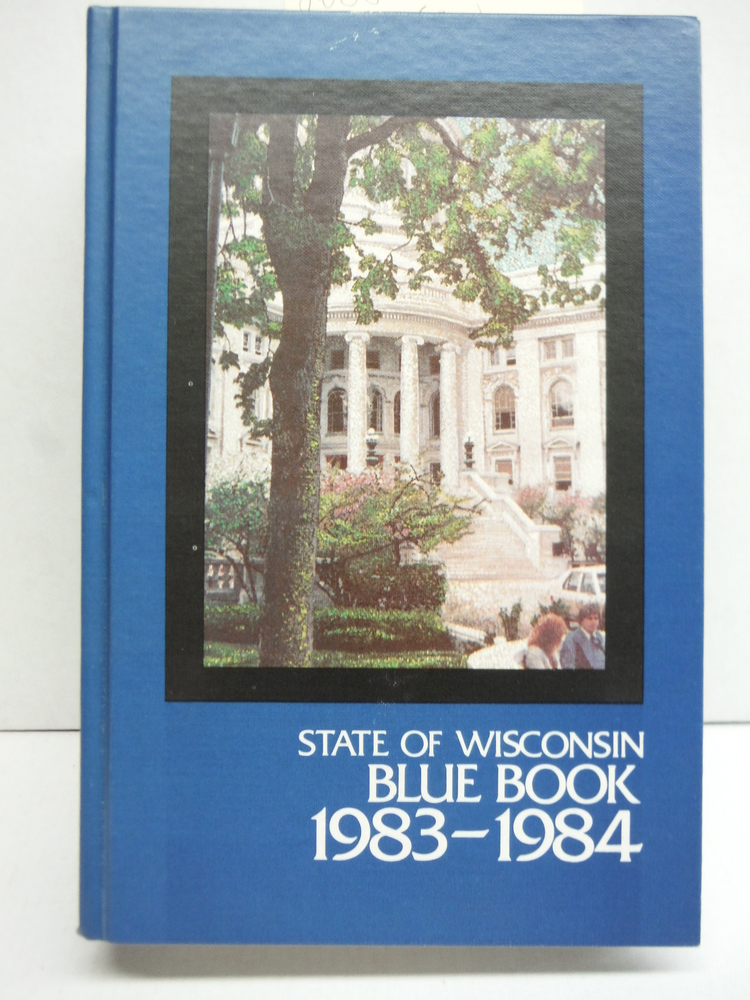 Image 0 of State of Wisconsin Blue Book 1983-1984