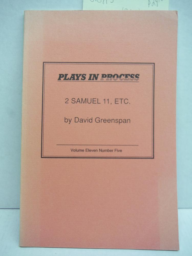 2 Samuel 11, Etc.