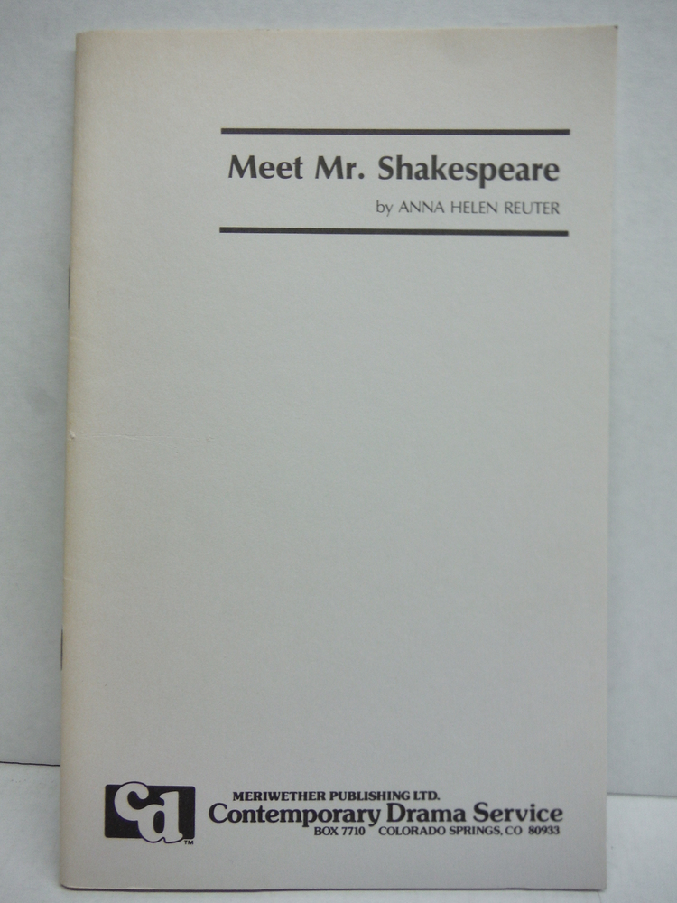 Image 0 of Meet Mr. Shakespeare