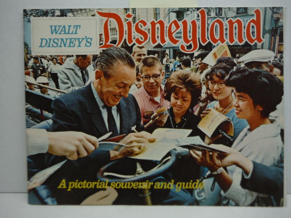 Walt Disney's Disneyland (1968 Pictorial Souvenir and Guide)