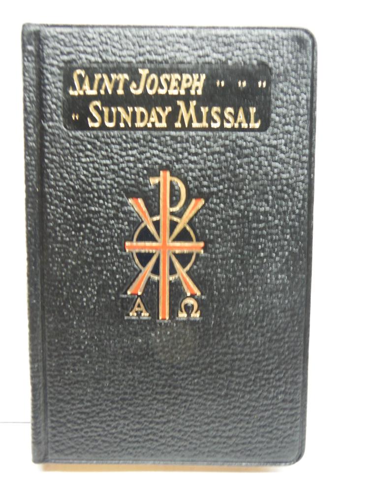 Saint Joseph Sunday Missal, Large Print, Latin-English (Sundays and Feast Days,
