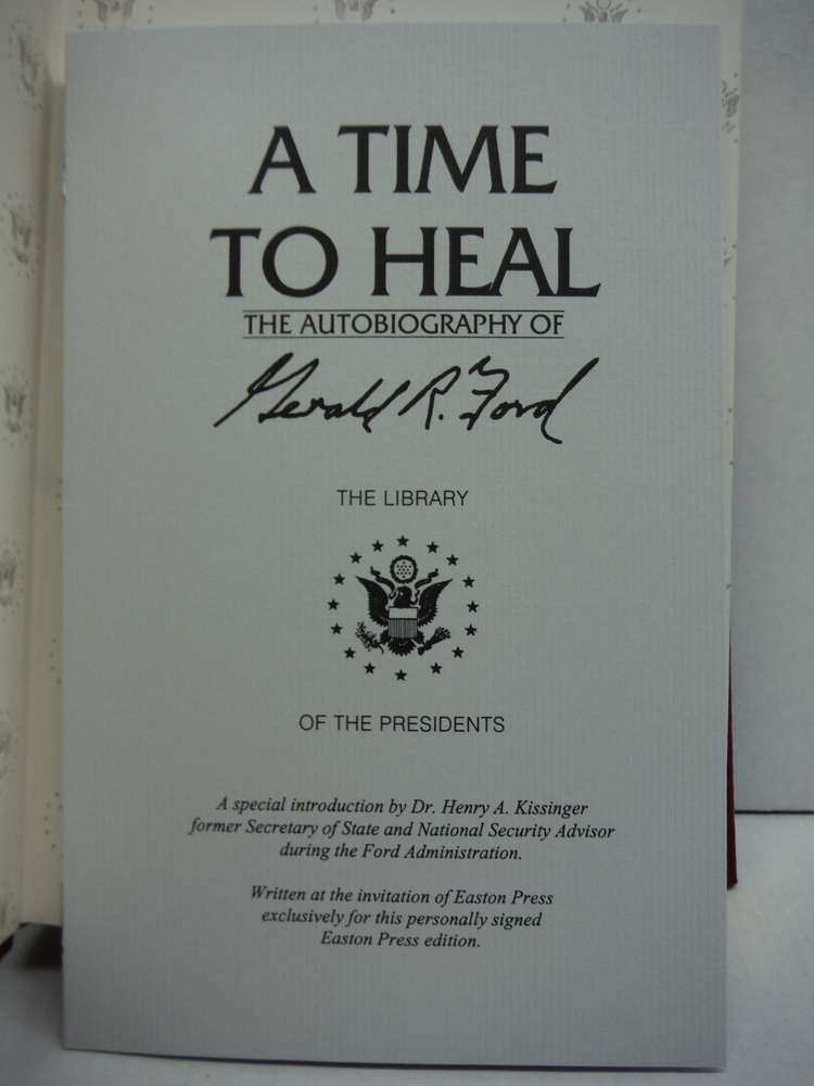 Image 1 of A Time to Heal