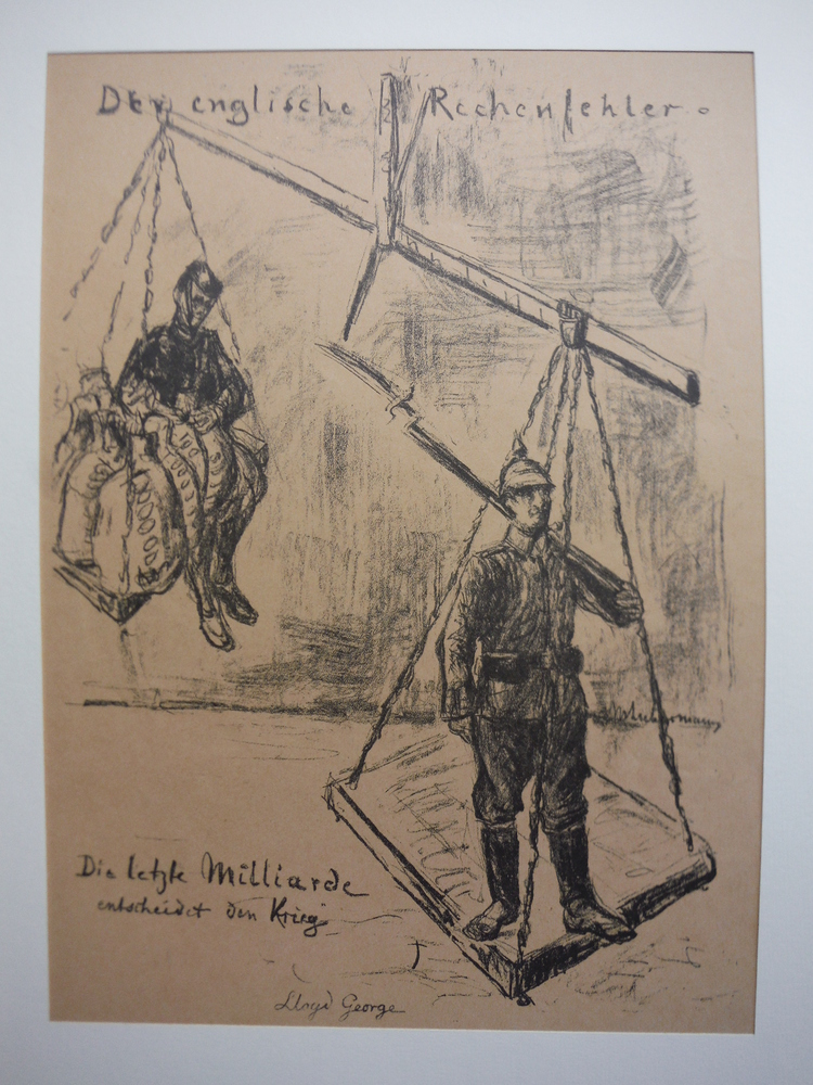 Image 0 of Original Lithograph by Max Liebermann entitled