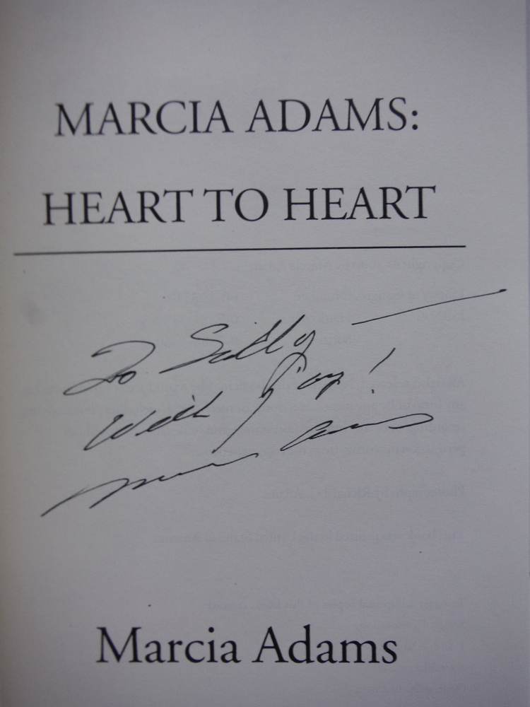 Image 1 of Marcia Adams:  Heart to Heart