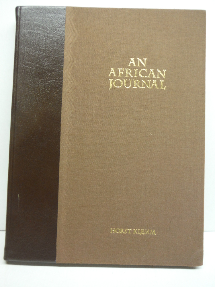 Image 1 of An African Journal