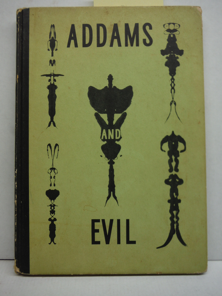 ADDAMS AND EVIL; An Album of Cartoons.