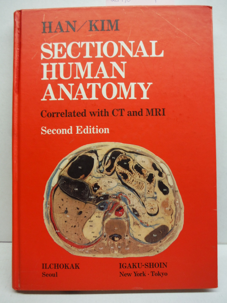 Image 0 of Sectional Human Anatomy: Transverse, Sagittal and Coronal Sections Correlated Wi
