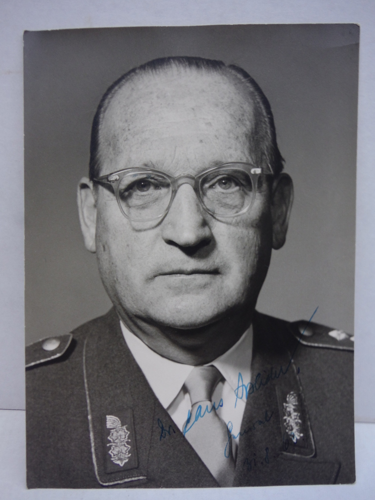 Image 0 of Signed Photograph of General General Hans Speidel (Rommel's Chief of Staff