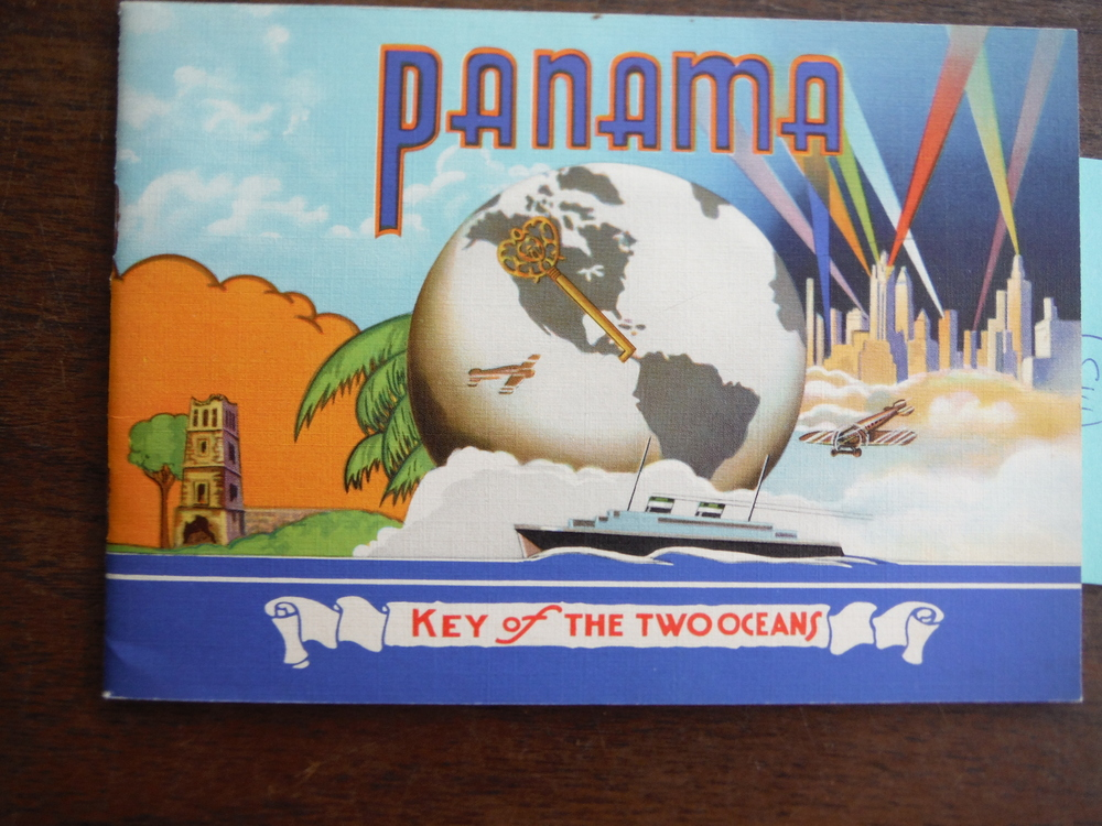 Panama Key of the Two Oceans Travel Brochure - 1940