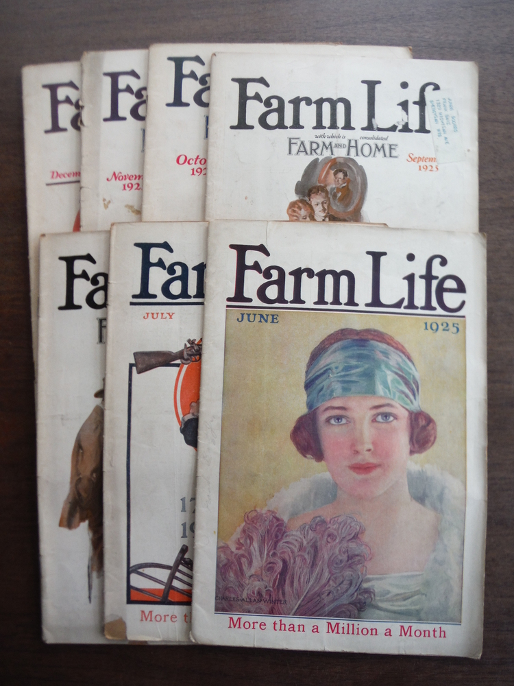 Image 0 of Farm Life Magazine  1925 (Seven Issues June to December)