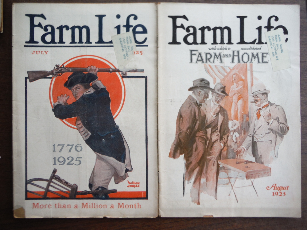 Image 1 of Farm Life Magazine  1925 (Seven Issues June to December)