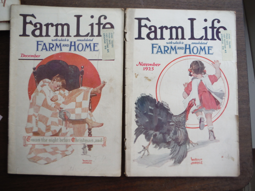 Image 3 of Farm Life Magazine  1925 (Seven Issues June to December)