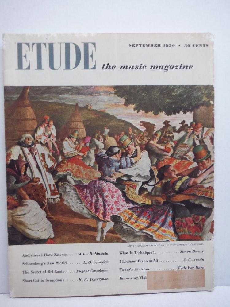 Image 3 of Etude the Music Magazine - 1950 (6 issues)