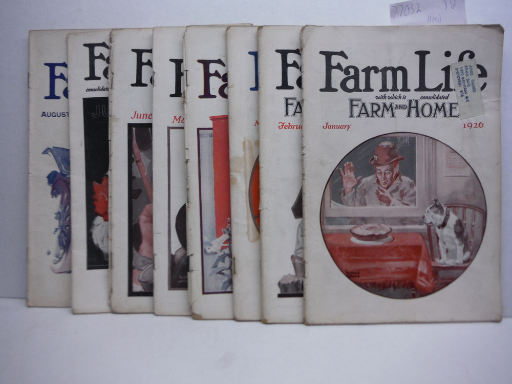Image 0 of Farm Life Magazine - 8 Issues  VOL  XLV  (January - September 1926)