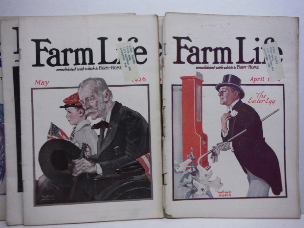 Image 1 of Farm Life Magazine - 8 Issues  VOL  XLV  (January - September 1926)