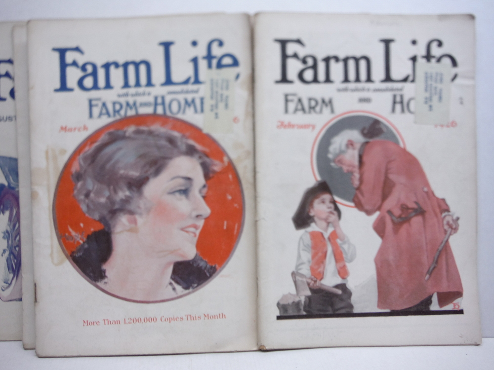 Image 2 of Farm Life Magazine - 8 Issues  VOL  XLV  (January - September 1926)