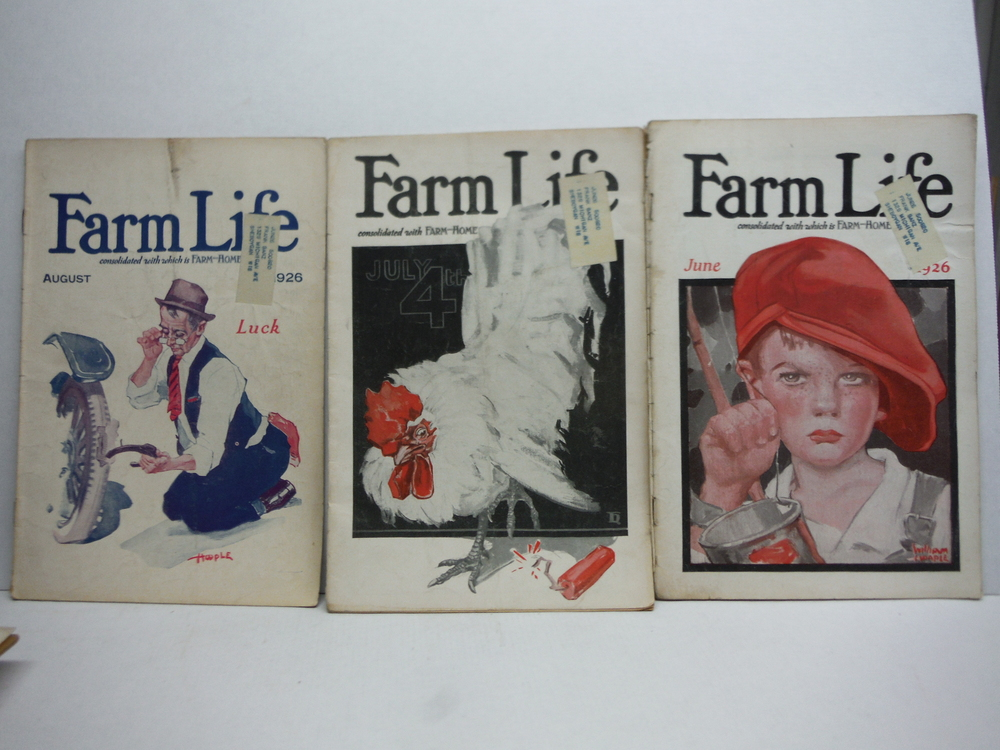 Image 3 of Farm Life Magazine - 8 Issues  VOL  XLV  (January - September 1926)
