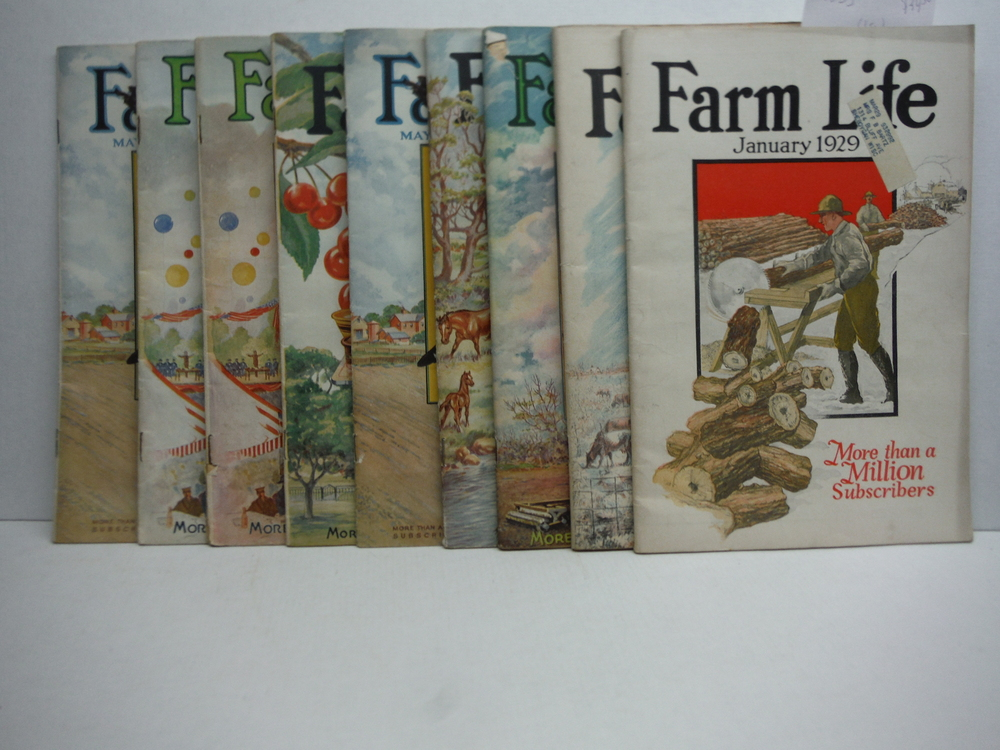 Image 0 of Farm Life Magazine - 9 Issues  VOL  XLVIII  (January - July 1929)