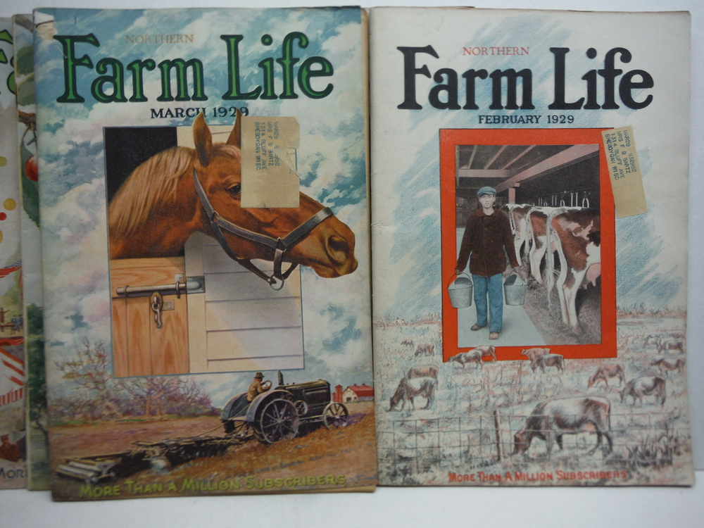 Image 1 of Farm Life Magazine - 9 Issues  VOL  XLVIII  (January - July 1929)