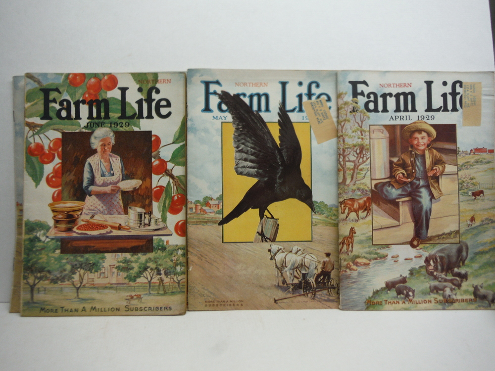 Image 2 of Farm Life Magazine - 9 Issues  VOL  XLVIII  (January - July 1929)