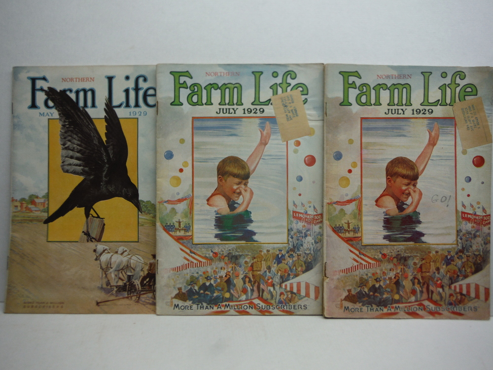 Image 3 of Farm Life Magazine - 9 Issues  VOL  XLVIII  (January - July 1929)