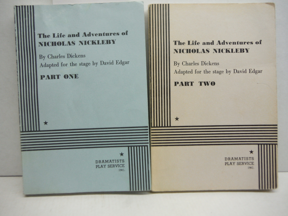 Image 0 of The Life and Adventures of Nicholas Nickleby Adapted for the stage by David Edga