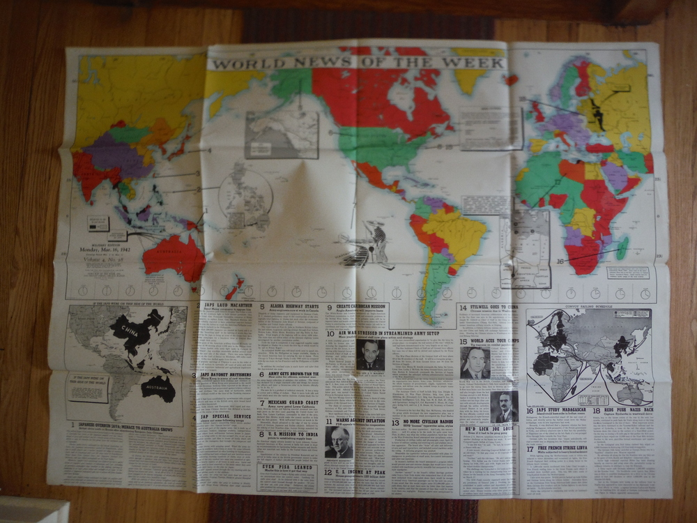 Image 0 of World News of the Week Vol 4, No. 28 (March 16, 1942)  Military Edition
