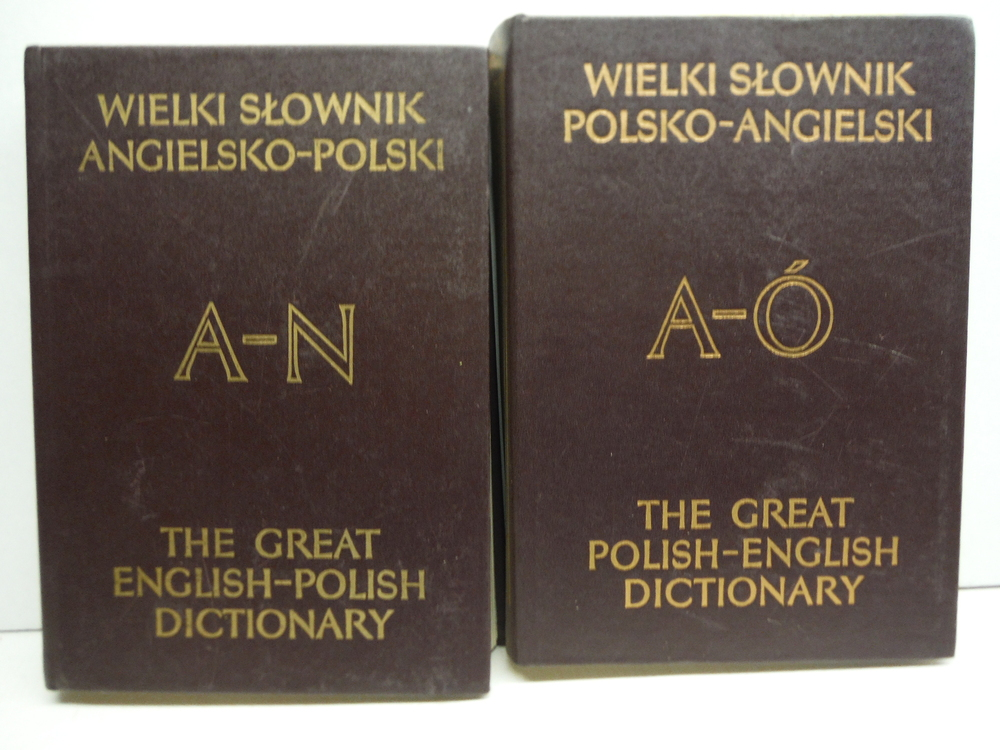 Image 3 of The Great Polish-English Dictionary (4 Vol Set)