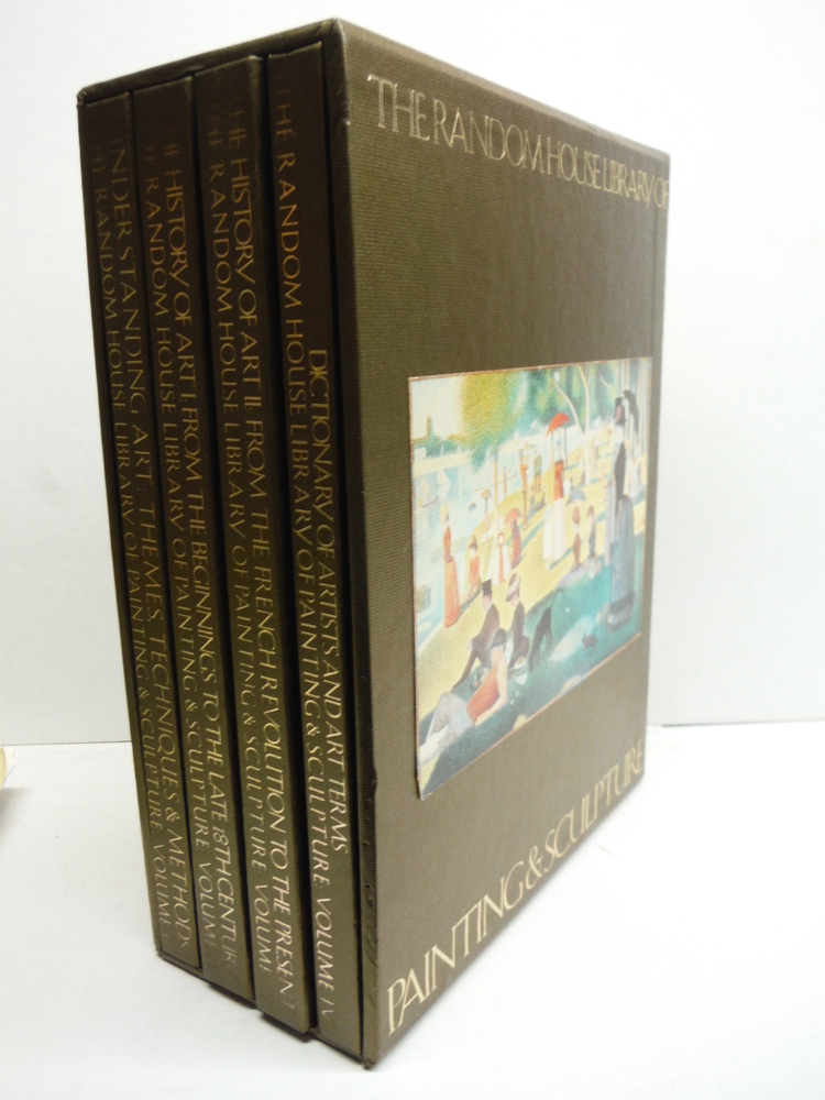 The Random House Library of Painting & Sculpture , 4 volume boxed set